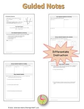 Algebra 2: Quadratic Equations