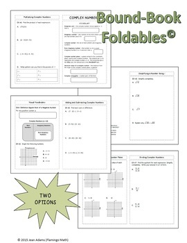 Algebra 2: Complex Numbers