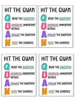 QUAN Reading Strategy