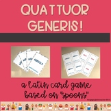QUATTUOR GENERIS Latin Card Game