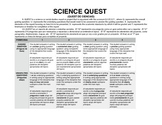 Q.U.E.S.T. PROJECT ENGLISH/SPANISH RUBRIC
