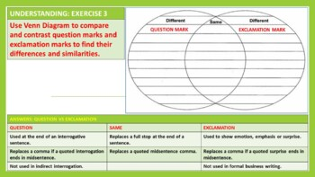 QUESTION & EXCLAMATORY MARKS: LESSON & RESOURCES