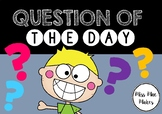 QUESTION OF THE DAY DISPLAY