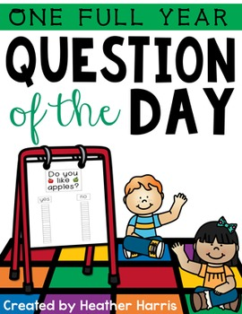 QUESTION OF THE DAY {one FULL year}