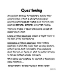 QUESTIONING Comprehension Strategy