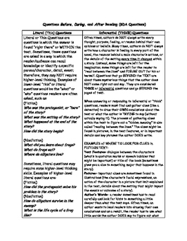 QUESTIONING Comprehension Strategy Expanded Version