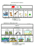 QUESTIONS ABOUT ANIMALS I & II