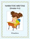 NARRATIVE WRITING (Grades 4-6) Common Core and SBAC Prep