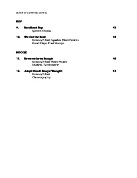 QUICK & EASY SONGS THAT ROCK, HOP, BOP, & BOOGIE