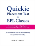 QUICKIE Placement Test for EFL Classes