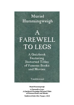 QUIZ: A Farewell to Legs?? Distorted titles of famous books & movies
