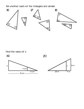 QUIZ (Angle & Triangle Relationships)