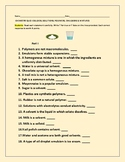 QUIZ:COLLOIDS, SOLUTIONS, POLYMERS, EMULSIONS & MIXTURES