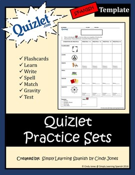 "QUIZLET ""Practice Sets"" TEMPLATE"