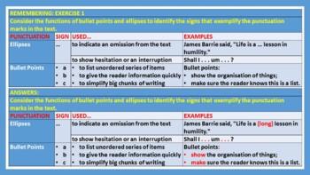 QUOTATION MARK RULES: HANDOUT