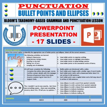 QUOTATION MARKS LESSON PRESENTATION