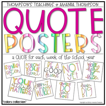 Positive QUOTE POSTERS