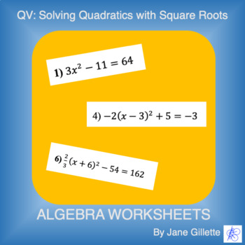QV: Solving with Square Roots