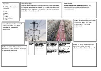 QWC Writing Frame - National Grid