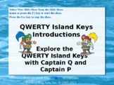 QWERTY Island Keys Lesson 1 - Introductions