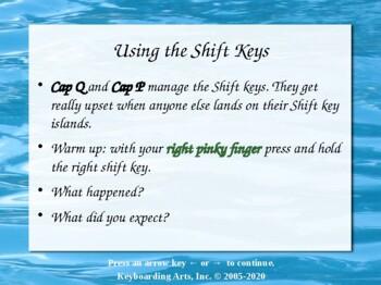 QWERTY Island Keys Lesson 2