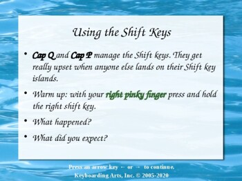 QWERTY Island Keys Lesson 2 - Mapping skills!