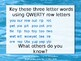 QWERTY Island Keys Lesson 4