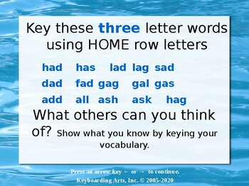 QWERTY Island Keys Lesson 5