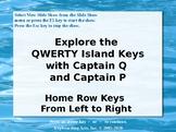 QWERTY Island Keys Lesson 5 - Explore the home row keys!