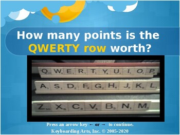 QWERTY Island Keys Lesson 7