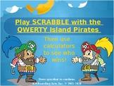 QWERTY Island Keys Lesson 7 - Scrabble Points!