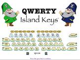 QWERTY Island Keys Word Wall Words part 1