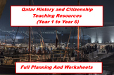 Qatar History Worksheets - Whole Primary School Pack