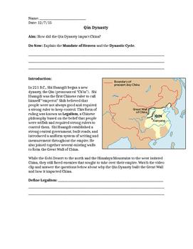 Qin Dynasty