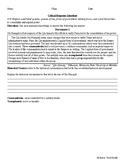 *BUNDLE*Qin Dynasty DBQs/ CRQs Short Answer Docs: New Global History Regents