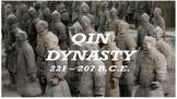 Qin Dynasty NOTES