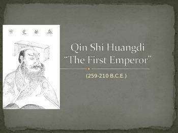 Qin Shi Huangdi China PPT editable