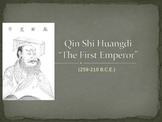 Qin Shi Huangdi China PPT editable