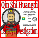 Qin Shi Huangdi: Hero or Villain - Distance Learning Compatible