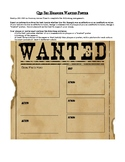Qin Shi Huangdi Wanted Poster
