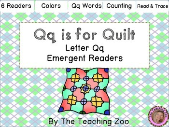 Letter of the Week Readers - Q q is for Quilt