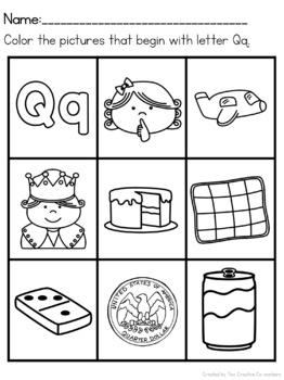Letter Q { Alphabet Practice }