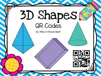 Qr Code: 3D Shapes/Solid Figures