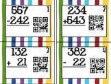 Qr Code Triple Digit Addition and Subtraction