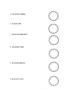 ¿Qué Hora Es? Telling Time Activity