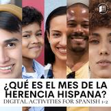 Qué es el Mes de la Herencia Hispana: DIGITAL #authres activities