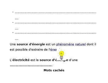 Qu'est ce que l'énergie?