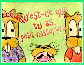 Qu'est-ce que tu as, petit castor?!? - French CI / TPRS - the verb avoir