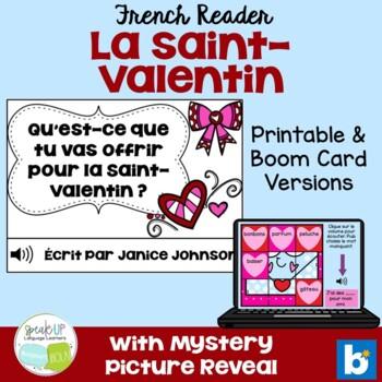 Qu'est-ce que tu vas offrir pour la Saint Valentin? French