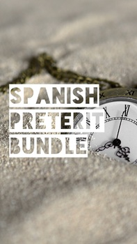 Spanish Lessons: Preterit Bundle